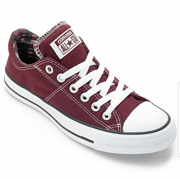 67401efcb0f328 Converse Shoes - Maroon Converse All🌟Stars size 5